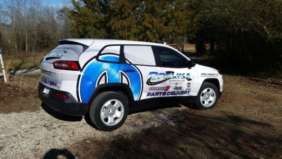 Full Car Wrap for Business