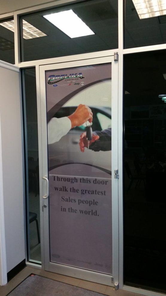 Custom Door Window Perf