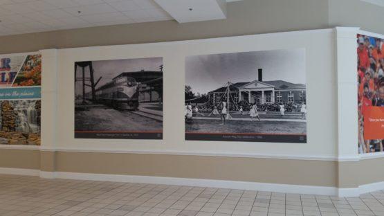 Auburn Mall Wall Mural