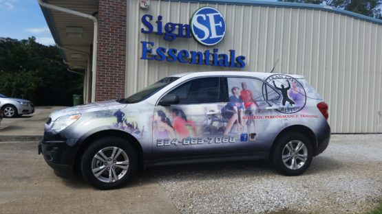 Chevy Equinox Wrap Design