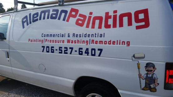 Custom Business Van Decals
