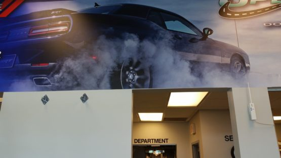 Car Dealership Wall Design