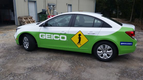 GEICO Insurance Vehicle Wrap Design