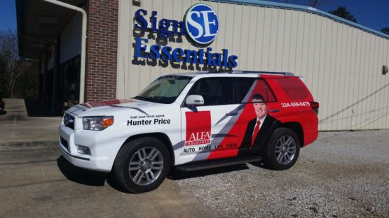 ALFA Insurance Vehicle Wrap Design