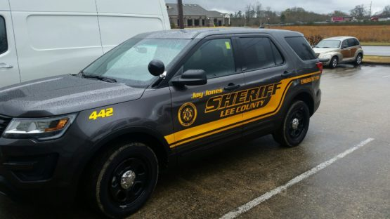 Sheriff Ford Explorer Wrap Design