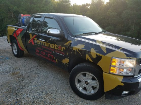 Chevy 1500 Truck Wrap Design