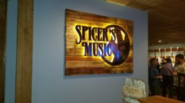 Custom Wood and Metal with LED Sign