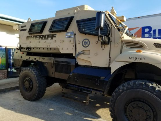 Sheriff Swat Truck Design