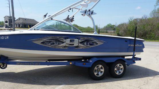 Boat car Wrap