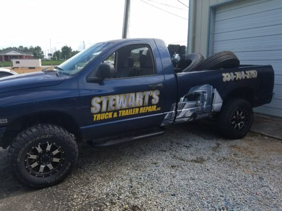 Dodge Ram Wrap Design
