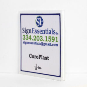 One Eighth CoroPlast