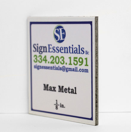 One Eighth Max Metal