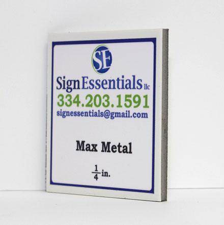 One Fourth Max Metal